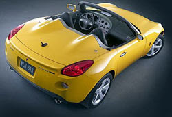 Pontiac Solstice was the engine Opel