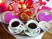 Frukost för en romantiker