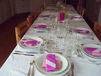 4-rätters: matjessillstårta,lax o musselpaj, ostbricka och tårtor