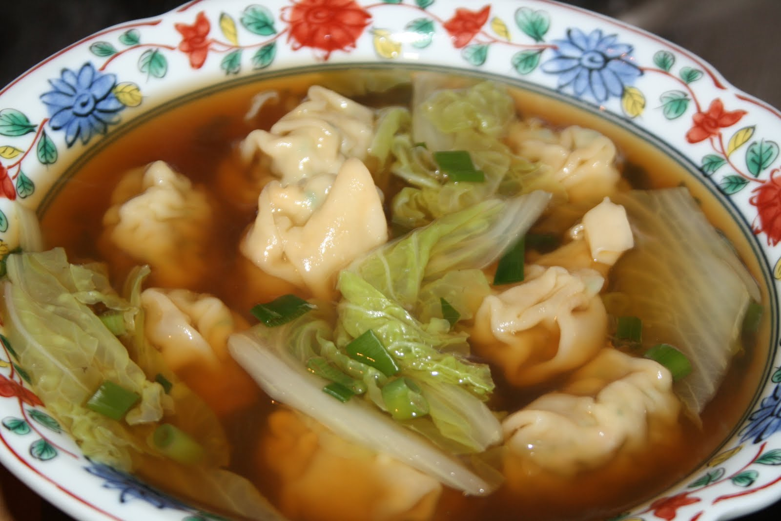 RECIPE: Classic Won Ton Soup