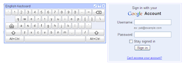 Ekstension Virtual Keyboard di Google Chrome