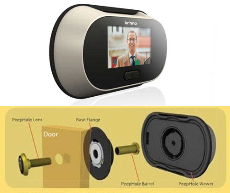 El blog de tu ferreter a online mirilla de puerta digital - Mirillas digitales para puertas ...