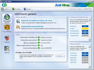 CA Anti-Virus 2008