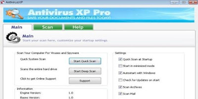 Antivirus XP Pro