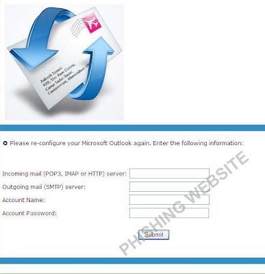 Outlook phishing