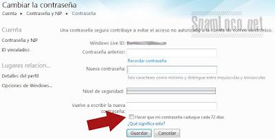 Cambiar la contraseña de Hotmail Cambiar-contrase%C3%B1a-hotmail4