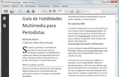 guia multimedia periodistas