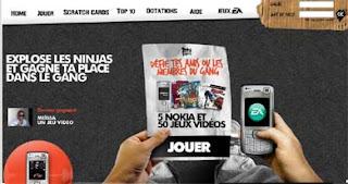 ipub.ca.cx, jean julien guyot, infopub.blogspot.com, SFR, SUPERGAZOL, NOKIA, EA