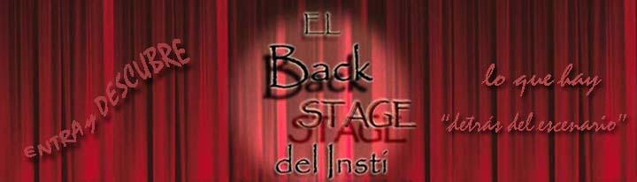 El Backstage del Insti