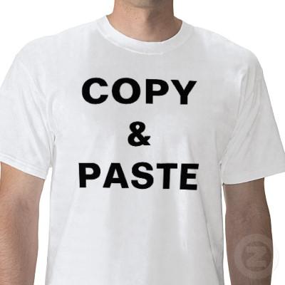 hati hati copy paste