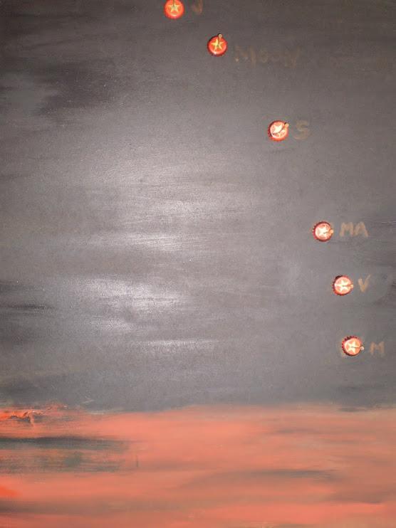 Constelación de orión. 22 de marzo de 2009