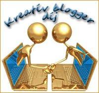 Kreatív blogger - díj =)