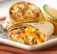 Burritos con Jamón