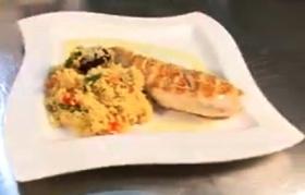 Pollo con Verduras y Cuscús