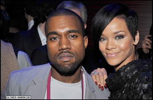 rihanna and kanye west all of lights. Kanye, Rihanna