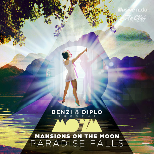 paradise falls Benzi & Diplo Present: Mansions On the Moon   Paradise Falls (Mixtape Download)