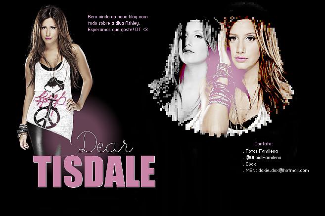 Dear Ashley Tisdale