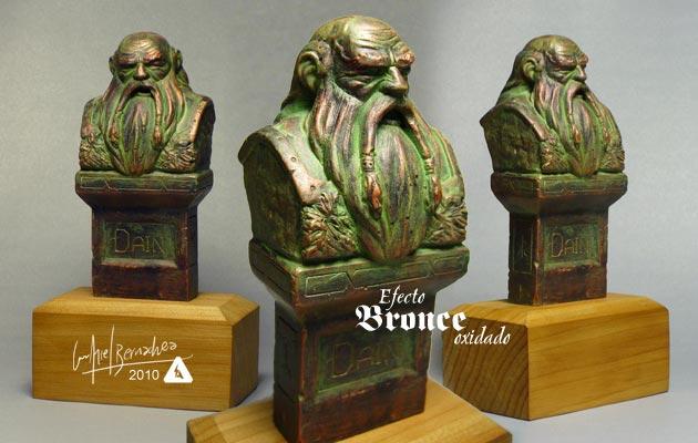 Escultura desde Bariloche - por LUIS ARIEL BERNACHEA Bronceoxidado