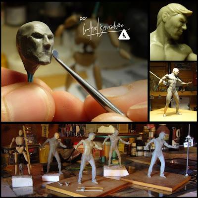 Escultura desde Bariloche - por LUIS ARIEL BERNACHEA Anatomiapros