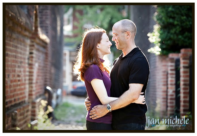 Alexandria Va engagement picture
