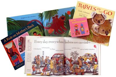 Βιβλία όπου τα μωρά είναι συνέχεια μαζί με τους γονείς τους
