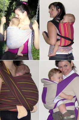 Σε μάρσιπο αγκαλιάς τα μωρά κάθονται με τα πόδια ανοιχτά, όπως ακριβώς πρέπει!