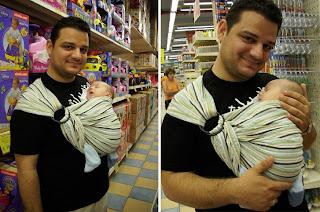 Ο μπαμπάς και ο γιος του, πάνε για ψώνια μαζί!