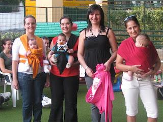 Συνάντηση της ομάδας babywearing κατά τη διάρκεια της IBW 2009