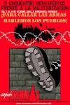 II Encuentro Hemisferico frente a la militarizacion en Honduras del 2008