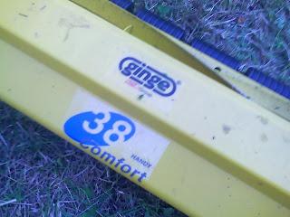 Comfort 38 push mower