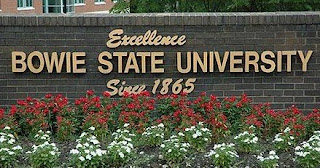 Bowie State University sign