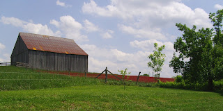 barn at Clagett Farm