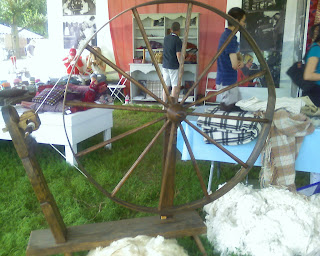 the poor mans wool spinning machine