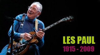 guitarist and electric guitar pioneer Les Paul