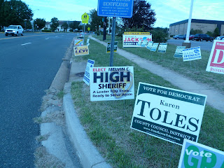 High Sheriff campaign sign