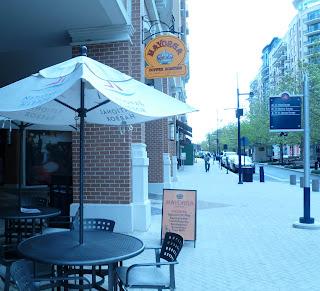 outside of Mayorga Coffee