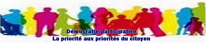 VOS PRIORITES POLITIQUES : démocratie participative
