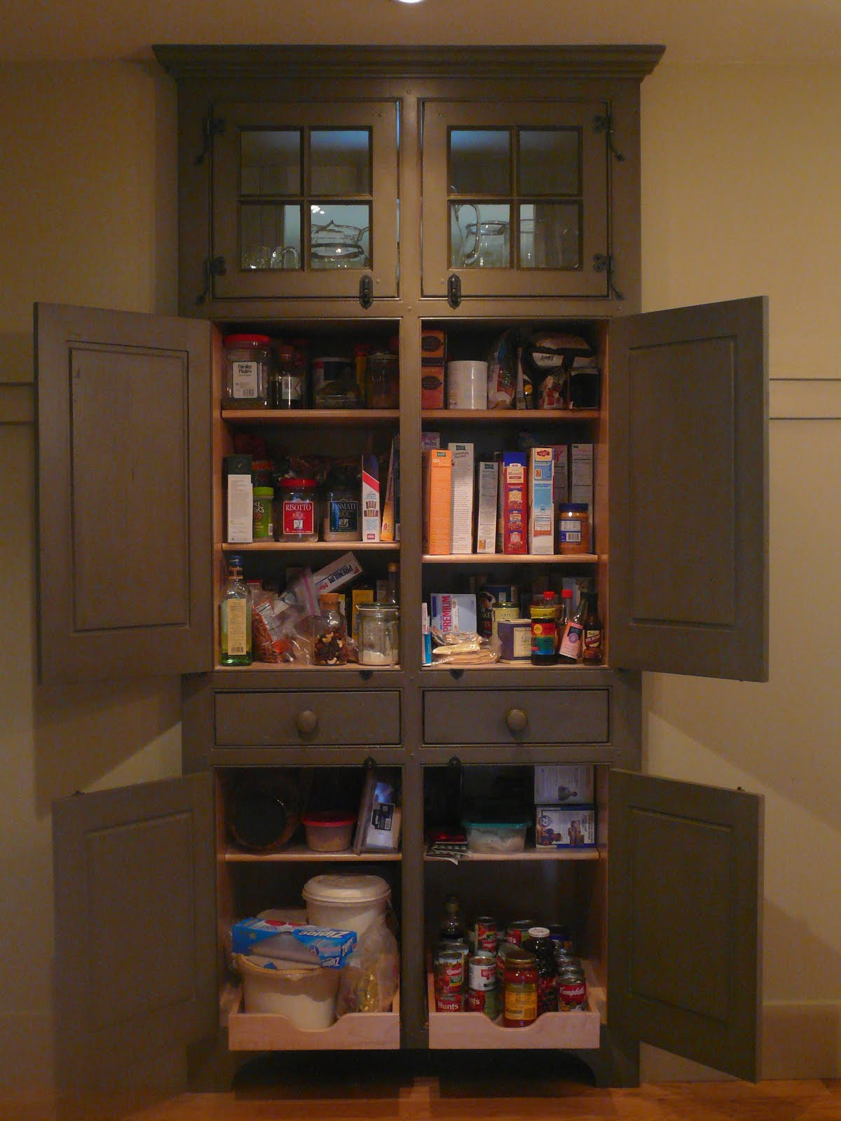 Timeless Kitchen Cabinetry Pantry Of Sorts