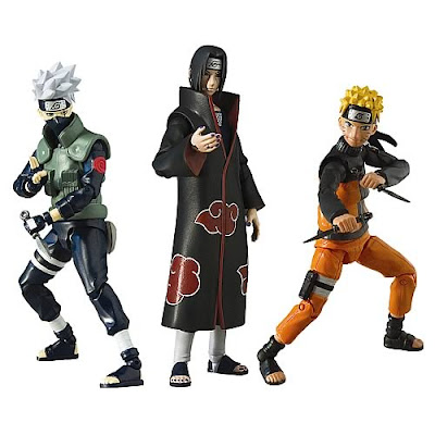 Naruto Shippuden 4-inch Posable Action Figures for the Collector