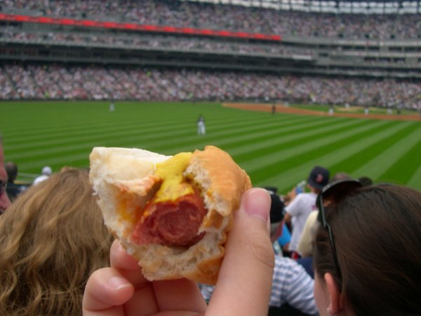 White Sox Hot Dogs