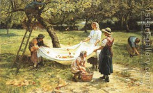 GATHERING THE APPLES