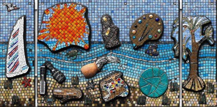Mosaic Art in Australia - Mosaic Artist / Teacher Sandy Robertson ...