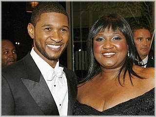 "usher Ushers Mom: ""New Baby Is A Blessing"""