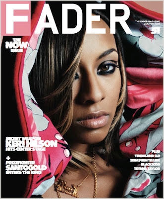 keri+hilson Keri Hilson Covers The Fader Magazine
