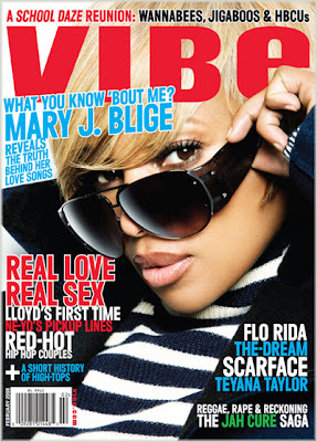 mary+j+vibe Mary J. Blige Covers VIBE Magazine