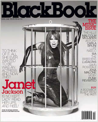 Janet Covers BlackBook Magazine