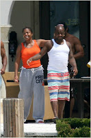 janet2 Janet and Jermaine Miami Candids