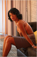 rihananshoot10 Rihanna On The Set Of Hate That I Love You Video