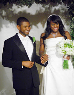 ushwedding4 Usher &amp; Tameka Wedding Pics