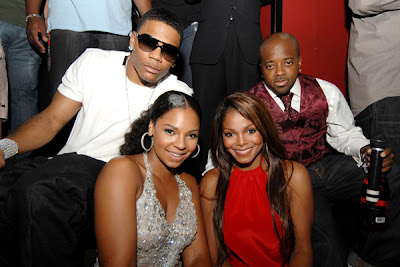 nellyashantijdjanetj JD & Nelly Host Post VMA Party